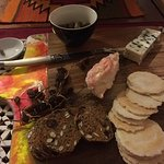 Pansabella cheese platter at home