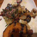 Tenderloin with those amazing veggies in bacon