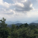Mountain Tops from Mt. Takao Summit
