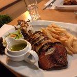 calamar grillé