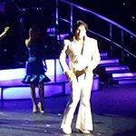 ETA on stage at the Royal Hawaiian Centre Waikiki at the Luau Buffet and show