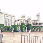Bangalore Palace from the Gates