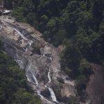 Telaga Tujuh or Seven Wells waterfall