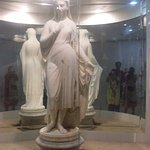 The Veiled Rebecca - Meticulously sculpted marble statue