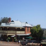 Mundaring Weir Hotel near Mundaring Weir and the famous golden pipeline to Kalgoorlie.