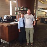 Ahmed Abu Hawa and LJG, Lobby Bar, Leonardo Plaza Hotel