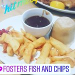 fosters fish and chip shop Foto