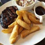 Steak was so tender!
