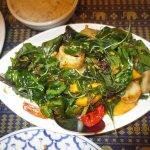 spicy mango seafood stir fry special