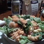 Shrimp and Pasta Salad at The Copper Mug