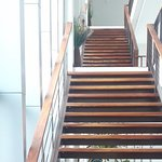 modern design and wide stairs in Nang Rong
