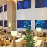 Lobby bar & oceanarium