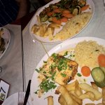 veggie moussaka and lasagne