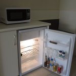 A small but useful fridge.