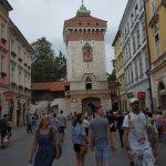 Beautiful St Florian's Gate.