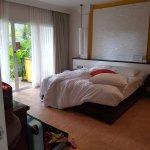 King Size bed in 2 Bedroom Tropicale suite. Ground floor.