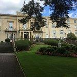 Gardens and entrance to MacDonald Bath Spa Hotel, Bath