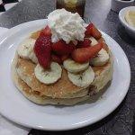 triple berry pancakes - very good