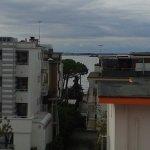 Vom Balkon 4. Stock Richtung Lagune