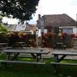 Pretty beer garden