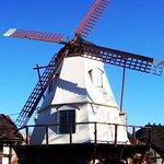 Windmill outside the inn