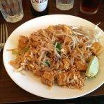 A staple: Pad Thai noodles.