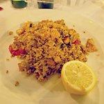 Heavenly paella