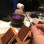 S'mores in the lobby bar