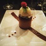 Chocolate with icecream