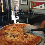 14 inch two topping pizza