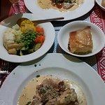 Our mains at Gallomore's, Fantastic food!