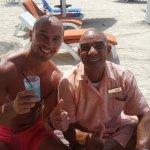 Met fantastisch lieve barman Kenneth!