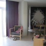 sitting area in apartment