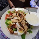 Cobb salad, huge and yummy