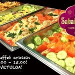 Welcome to test our buffet lunch! It's fantastic!