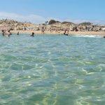 Chia Laguna private beach