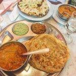 Paneer Butter Masala + Parotha // Butter Chicken + Naan
