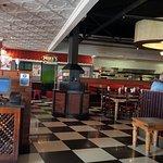 Steakhouse setting