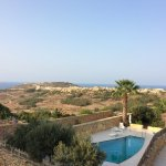 View from the Blossom Room over Gozo