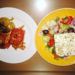 Servicio a la habitación de comida