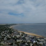Looking back down the Cape