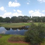 View of 7th hole and fairway from the Sunset Village Condos at Sandpiper Bay