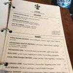 Menus & A Nice Beer