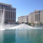Free water show at Bellagio