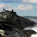 Anglers love Sachuest Point