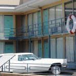 Site of MLK's assassination at the Lorraine Motel/Natl Civil Roghts Museum