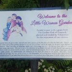 Orchard House garden sign