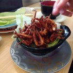 crispy squid tentacles