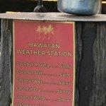 Maui weather station.