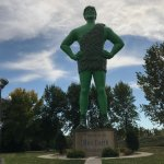 Photo of Green Giant Statue Park